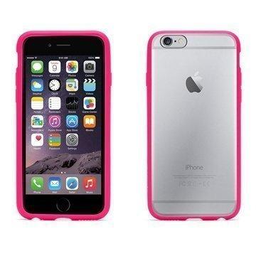 iPhone 6 / 6S Griffin Reveal Kotelo Vaaleanpunainen / Läpinäkyvä
