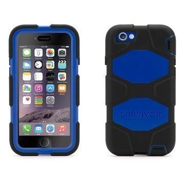 iPhone 6 / 6S Griffin Survivor All-Terrain Case Black / Blue