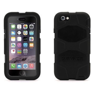 iPhone 6 / 6S Griffin Survivor All-Terrain Case Black
