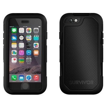 iPhone 6 / 6S Griffin Survivor Summit Kotelo Musta