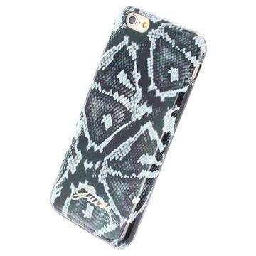iPhone 6 / 6S Guess Animal TPU-Kotelo Pyton Musta