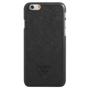 iPhone 6 / 6S Guess Brad Collection Kova Suojakuori Musta