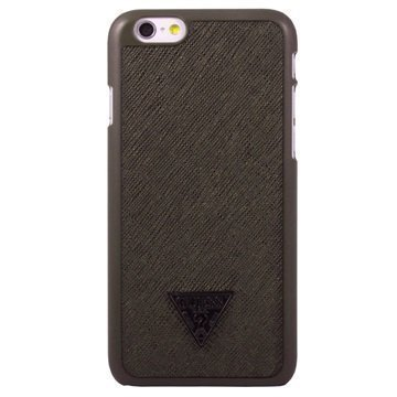 iPhone 6 / 6S Guess Brad Collection Kova Suojakuori Ruskea
