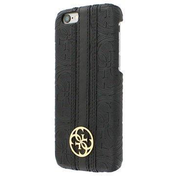 iPhone 6 / 6S Guess Heritage Kova Kotelo Musta