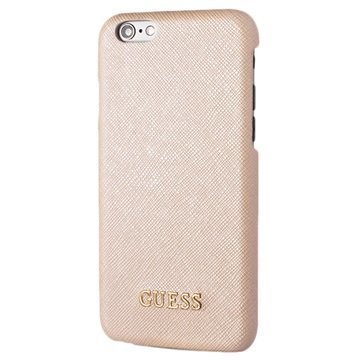 iPhone 6 / 6S Guess Saffiano Look Kova Suojakuori Beige