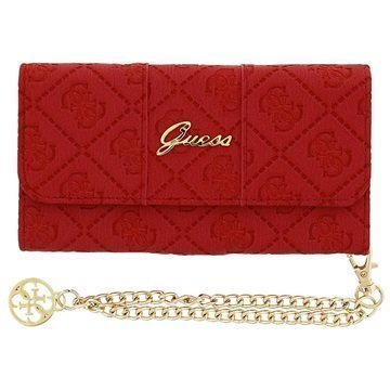 iPhone 6 / 6S Guess Scarlett Clutch Kotelo Punainen