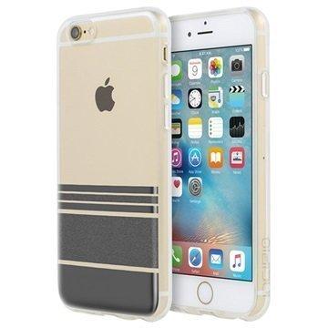 iPhone 6 / 6S Incipio Design Series Wesley Stripes Kuori Musta