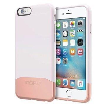 iPhone 6 / 6S Incipio Edge Chrome Suojakuori Valkoinen / Ruusukulta