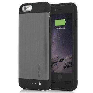 iPhone 6 / 6S Incipio OffGRID Shine Vara-Akkukuori Harjattu Titaani