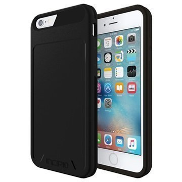 iPhone 6 / 6S Incipio Performance Series Level 1 Kotelo Musta