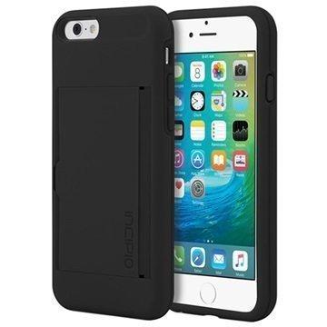 iPhone 6 / 6S Incipio Stowaway Kotelo Musta