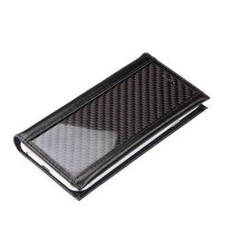 iPhone 6 / 6S Ion-factory CarbonSlender Läppäkotelo Musta