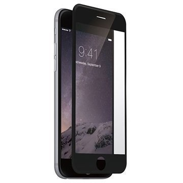 iPhone 6 / 6S Just Mobile AutoHeal Näytönsuoja Musta