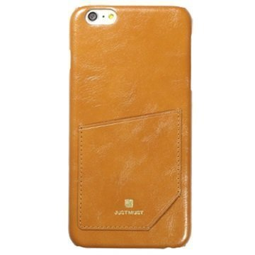 iPhone 6 / 6S Just Must CHIC-Kokoelman Kotelo Ruskea