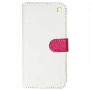 iPhone 6 / 6S Just Must Combo Lompakkokotelo Valkoinen