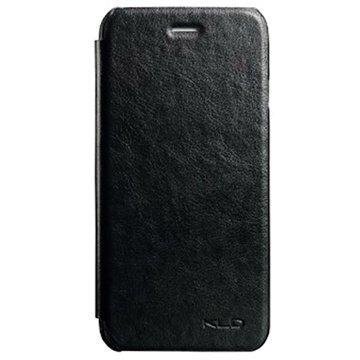iPhone 6 / 6S Kalaideng Enland Series Nahkainen Läppäkotelo Musta