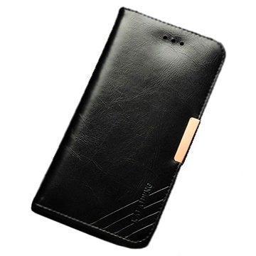 iPhone 6 / 6S Kalaideng Royale II Nahkainen Lompakkokotelo Musta