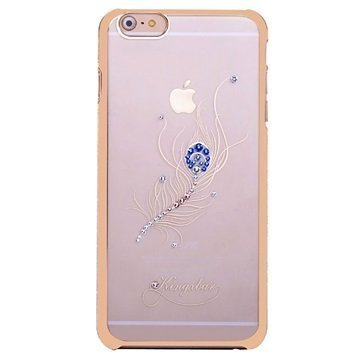 iPhone 6 / 6S Kingxbar Swarovski Crystal Suojakotelo Riikinkukon Sulka