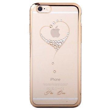 iPhone 6 / 6S Kingxbar Swarovski Crystal Suojakotelo Sydän