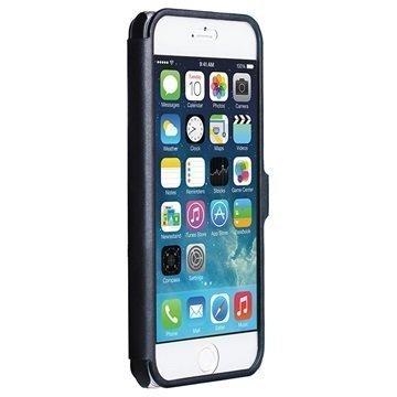iPhone 6 / 6S Krusell Donsö ViewCase Läppäkotelo Musta