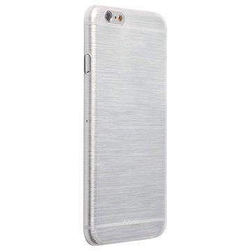 iPhone 6 / 6S Krusell FrostCover Suojakuori Läpinäkyvä Valkoinen