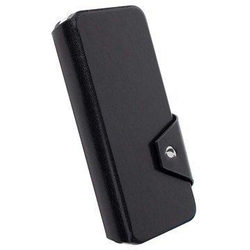 iPhone 6 / 6S Krusell Kalmar Wallet Leather Case Black