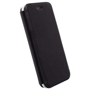 iPhone 6 / 6S Krusell Kiruna Wallet Leather Case Black