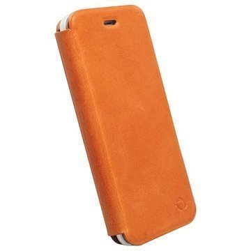 iPhone 6 / 6S Krusell Kiruna Wallet Leather Case Camel