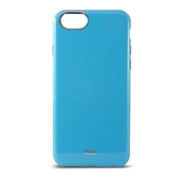 iPhone 6 / 6S Ksix Flex Solid TPU-Kotelo Sininen