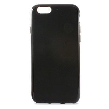 iPhone 6 / 6S Ksix Flex TPU Kotelo Musta