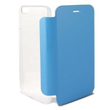 iPhone 6 / 6S Ksix Folio Kotelo Läpinäkyvä / Sininen