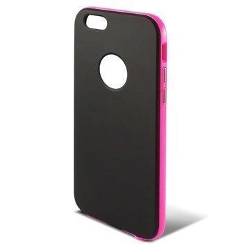iPhone 6 / 6S Ksix Hybrid Kova Suojakuori Musta