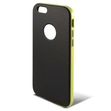 iPhone 6 / 6S Ksix Hybrid Kovakotelo Musta / Vihreä