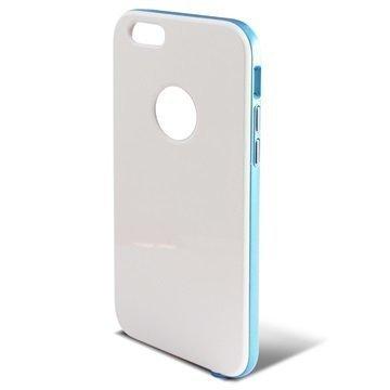 iPhone 6 / 6S Ksix Hybrid Kovakotelo Valkoinen / Sininen