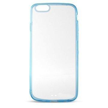 iPhone 6 / 6S Ksix Ultrathin Fusion Kotelo Läpinäkyvä / Sininen