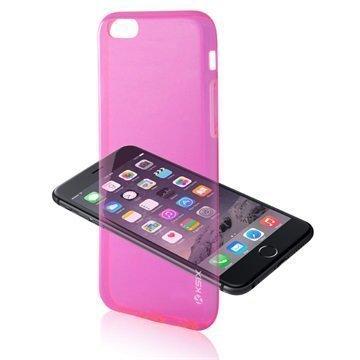 iPhone 6 / 6S Ksix Ultrathin Fusion TPU Kotelo Pinkki