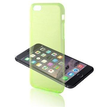 iPhone 6 / 6S Ksix Ultrathin Fusion TPU Kotelo Vihreä
