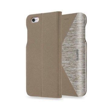 iPhone 6 / 6S LAUT K-FOLIO Folio Case Beige