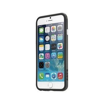 iPhone 6 / 6S LAUT LOOPIE Suojareunus Musta