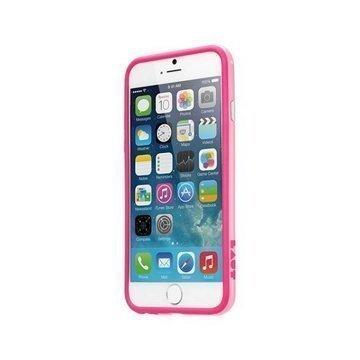 iPhone 6 / 6S LAUT LOOPIE Suojareunus Vaaleanpunainen