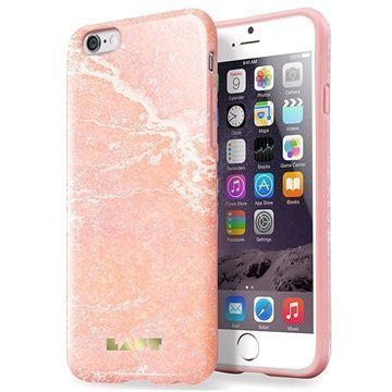 iPhone 6 / 6S Laut Huex TPU Case Marble Pink