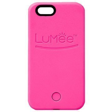 iPhone 6 / 6S LuMee LED-Valaistu Selfie-Kotelo Kuuma Pinkki