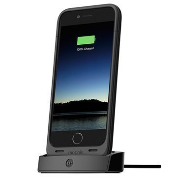 iPhone 6 / 6S Mophie Juice Pack Telakka Musta