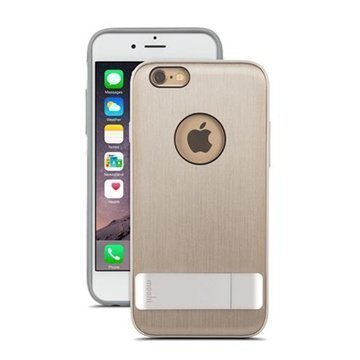 iPhone 6 / 6S Moshi iGlaze Kameleon Seisontatuki Kotelo Titaniumi
