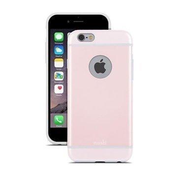 iPhone 6 / 6S Moshi iGlaze Kotelo Vaaleanpunainen