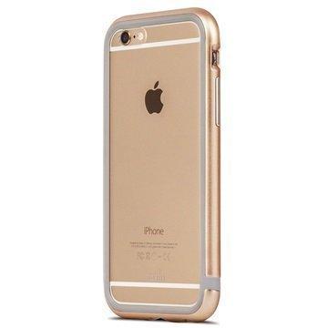 iPhone 6 / 6S Moshi iGlaze Luxe Metal Suojareunuskotelo Kulta