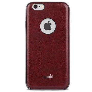 iPhone 6 / 6S Moshi iGlaze Napa Kotelo Burgundinpunainen