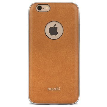 iPhone 6 / 6S Moshi iGlaze Napa Kotelo Caramel Beige