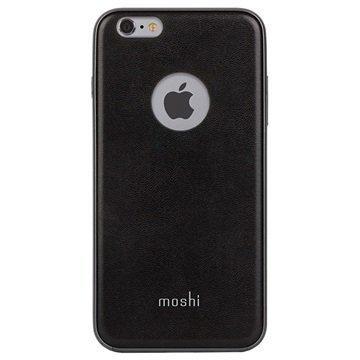 iPhone 6 / 6S Moshi iGlaze Napa Kotelo Onyx Musta