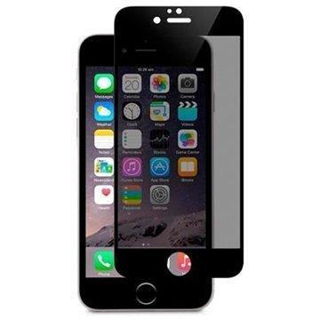 iPhone 6 / 6S Moshi iVisor Glass Privacy Lasinen Näytönsuoja Musta
